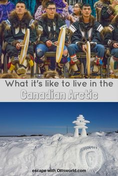 How do people in Inuvik live above the Arctic Circle in 9 months of winter & 1 month of total darkness in the Canadian Arctic? Vacation Trips, Dream Vacations, Canada Destinations, Visit Canada, Arctic Circle, Explore Travel, 1 Month, Antarctica, Canada Travel
