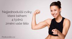 Nejjednodušší cviky, které během 4 týdnů změní vaše tělo | ProKondici.cz Yoga Fitness, Health Fitness, Yoga Anatomy, Organic Beauty, Excercise, Body Care, Pilates, Bodybuilding, Healthy Living