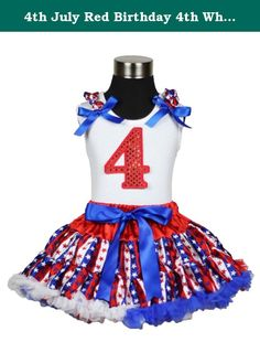 4th July Red Birthday 4th White Top America Stripe Star Pettiskirt Set 1-8y (1-2year). product includes: a pettiskirt, top (not include other accessory) size chart - shirt size: size XS(1-2Year), Chest(Circumference): 16-20 inches, Top Length: 14.5 inches size S(3-4Year), Chest(Circumference): 17-21 inches, Top Length: 15.5 inches size M(4-5Year), Chest(Circumference): 18-22 inches, Top Length: 16.5 inches size L(5-6Year), Chest(Circumference): 19-23 inches, Top Length: 17.5 inches size...