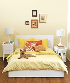 Mix It Up | A gallery of simple ideas to make your slumber zone dreamy.