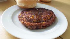 Meine ersten selbstgemachten veganen Burger/Pattys.