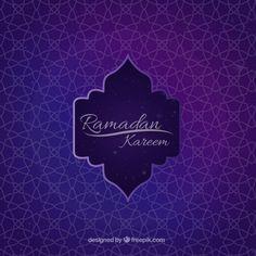 fundo ramadan ornamental Geometric Vetor grátis