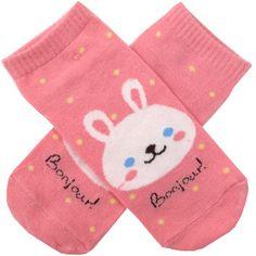 Bonjour! Bunny Socks
