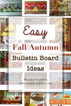Easy Fall/Autumn Bulletin Board Ideas   Wonder Toddlers