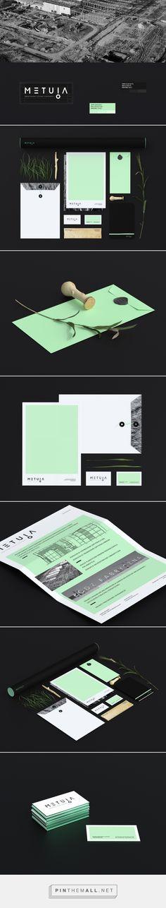 METUIA Architecture Branding by Oftografika | Fivestar Branding – Design and Branding Agency & Inspiration Gallery