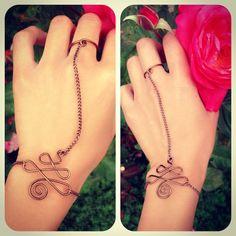 swirl slave bracelet.