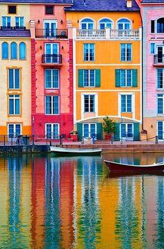 Em matéria de paisagem, a Itália é imbatível. Essa é Portofino!