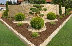 hof landschaften home- Schilling Privatgrten Front Garden Landscape, Landscape Design, Garden Design, Back Gardens, Small Gardens, Outdoor Gardens, Shed Landscaping, Landscaping With Rocks, Plants