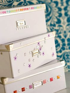 Doll Up Plain Boxes...it makes them special boxes!