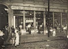 Augusto Malta. Armazém Caravella na rua Catumbi. 1922. Rio de Janeiro. Brasiliana Fotográfica
