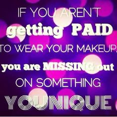 you're already wearing makeup, right? ok, so why not get paid for it?! Have questions? Ask me :)
