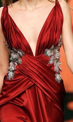 Intricate Fabric Draping