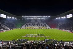 Juventus Internazionale 3-1 - La coreografia dello J Stadium