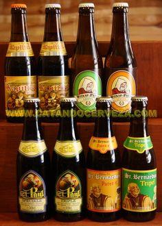 Pack de #cerveza de abadía belga.