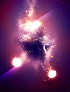 Create Facial Photo Manipulation Surrounded by Electrified Orbs in Photoshop