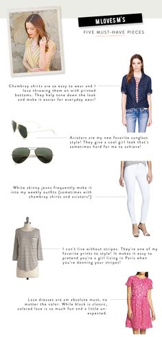 5 Must-Have pieces from Best Dressed Blogger: M Loves M