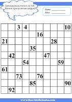 РАЗВИТИЕ РЕБЕНКА: Учимся считать от 1 до 10, до 20, до 25, до 50, до 100.