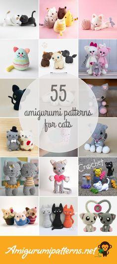 Amigurumi Patterns For Cats
