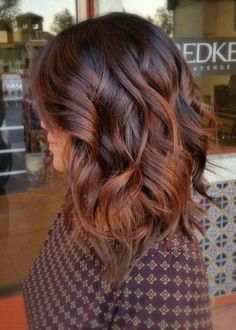 Reddish Brown Tints - The Top Hair Color Trend of 2017 is Hygge, According to Pinterest  - Photos