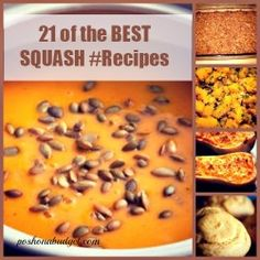 21 of the BEST SQUASH #Recipes