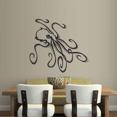 Wall Decal Decor Decals Sticker Octopus Tentacles Animal Sea Ocean Water (M273) DecorWallDecals http://www.amazon.com/dp/B00FWKM61Y/ref=cm_sw_r_pi_dp_8omYub08KDTHZ