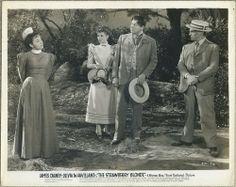 Olivia De Havilland, Rita Hayworth, Jack Carson and James Cagney 1941 Still Photo THE STRAWBERRY BLONDE SB-72, $15.00