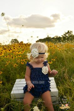 Hey, I found this really awesome Etsy listing at https://www.etsy.com/listing/172961513/navy-ivory-petti-lace-romper-headband