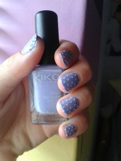 Did my nails - love this colour from KIKO xx