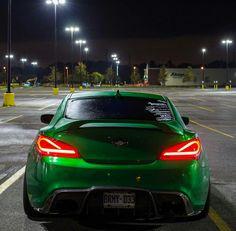 Green Hyundai Genesis