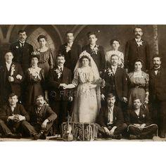 1850 antique wedding photos | Vintage Photo / Cabinet Card Photograph / Musical Marriage WEDDING ...