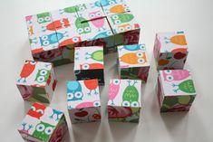 fabric puzzle blocks tutorial