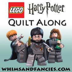 Lego Harry Potter Quilt Along – Whims And Fancies