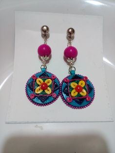 Quilled Paper earring by Parul