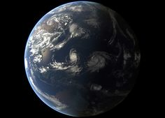 Tropical Cyclones Goni and Atsani As Seen From Orbit - SpaceRef