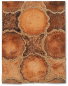 tiles Handmade tiles can be colour coordinated and customized re. shape, texture, pattern, etc. by ceramic design studios