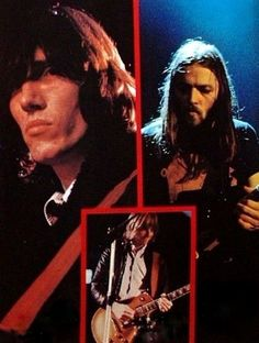 Roger Waters, David Gilmour, Snowy White - Pink Floyd, 'In The Flesh Tour'