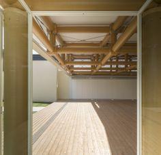 IE Paper Pavilion / Shigeru Ban Architects