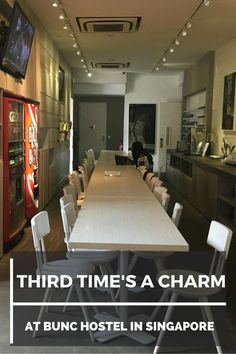 Third Time's a Charm at Bunc Hostel in Singapore | Where to Stay in Singapore | Singapore Travel Costs | Backpacking Tips For Singapore | South East Asia Travel Tips
