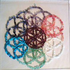 farkasandi / Mandala Kvet života Mandala, Carnelian, Geometry, Mandalas