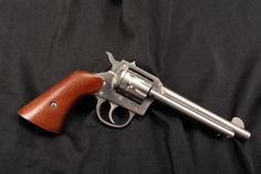 Harrington & Richardson Model H 950 9-Shot Nickel 22 LR Single Action Revolver