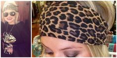 "4. Leopard Print Headband Thick headbands with fun patterns are ideal when completing an outfit like Blake's hunny. (TRS Version: Leopard Print Stretch 4"" Thick Fashion Adult Headband, $12.99)"