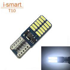 Super bright 24 SMD 4014 led car light 12V w5w T10 led auto canbus cob externa clearance bulb door reading lamp turn signal♦️ SMS - F A S H I O N  http://www.sms.hr/products/super-bright-24-smd-4014-led-car-light-12v-w5w-t10-led-auto-canbus-cob-externa-clearance-bulb-door-reading-lamp-turn-signal/ US $3.50
