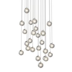 champagne bubbles 24-Light Round LED Pendant(2966.01) SONNEMAN - A Way of Light