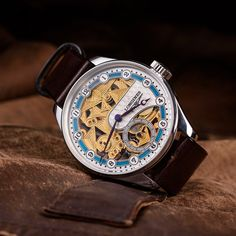Longines Skeletonized wristwatch - vintage swiss watch for men – Patina Original Mens Skeleton Watch, Swiss Watches For Men, Custom Leather, You Bag, Unisex, Accessories, Vintage, Vintage Comics, Jewelry Accessories