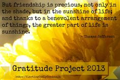 Gratitude Project 2013 - Day 12 - Grateful for Friends