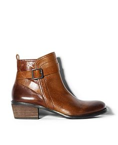 Vince Camuto Beamer brown bootie in Toasted Brown $149