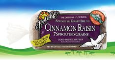 The naturally sweet sister of our popular 7 Sprouted Grains Bread.