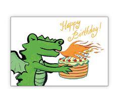 Coole Geburtstagskarte mit Drachen und Torte - http://www.1agrusskarten.de/shop/coole-geburtstagskarte-mit-drachen-torte/    00024_0_2734, Feuer, Geburtstag Drache, Geburtstags Blumen, Geschenkbeileger Torte, Grusskarte, Klappkarte, Kuchen00024_0_2734, Feuer, Geburtstag Drache, Geburtstags Blumen, Geschenkbeileger Torte, Grusskarte, Klappkarte, Kuchen