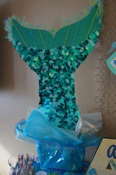 Under the Sea/ Mermaid Party Birthday Party Ideas | Photo 5 of 19 | Catch My Party