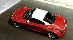 Karmann-Ghia um carro do futuro Este pode ser o Karmann-Ghia um carro projetado para o futuro